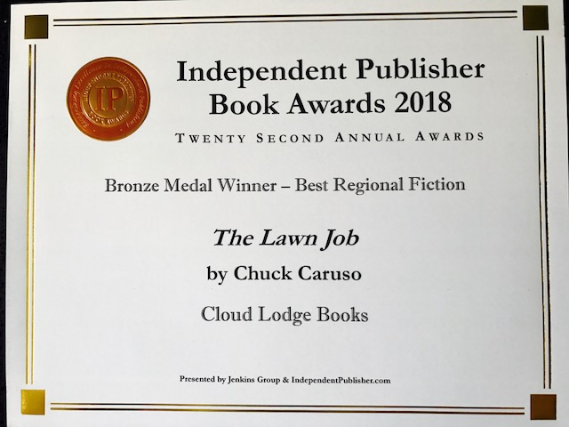 The IPPY Awards 2018 – Best Regional Fiction; The Lawn Job