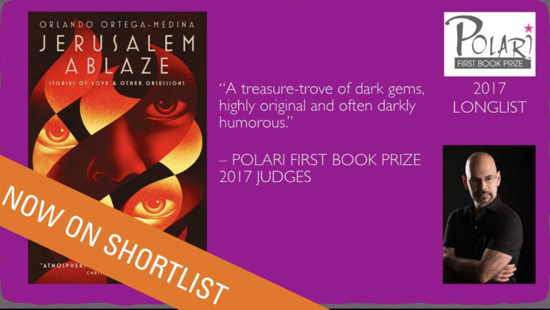 SHORTLISTED FOR THE POLARI FIRST BOOK PRIZE 2017