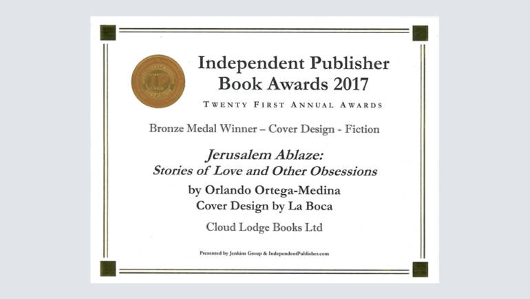 The IPPY Awards Bronze Certificate 2017